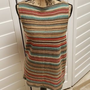 Ralph Lauren sleeveless knitted top Size XL